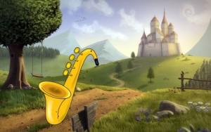 Črni saksofon