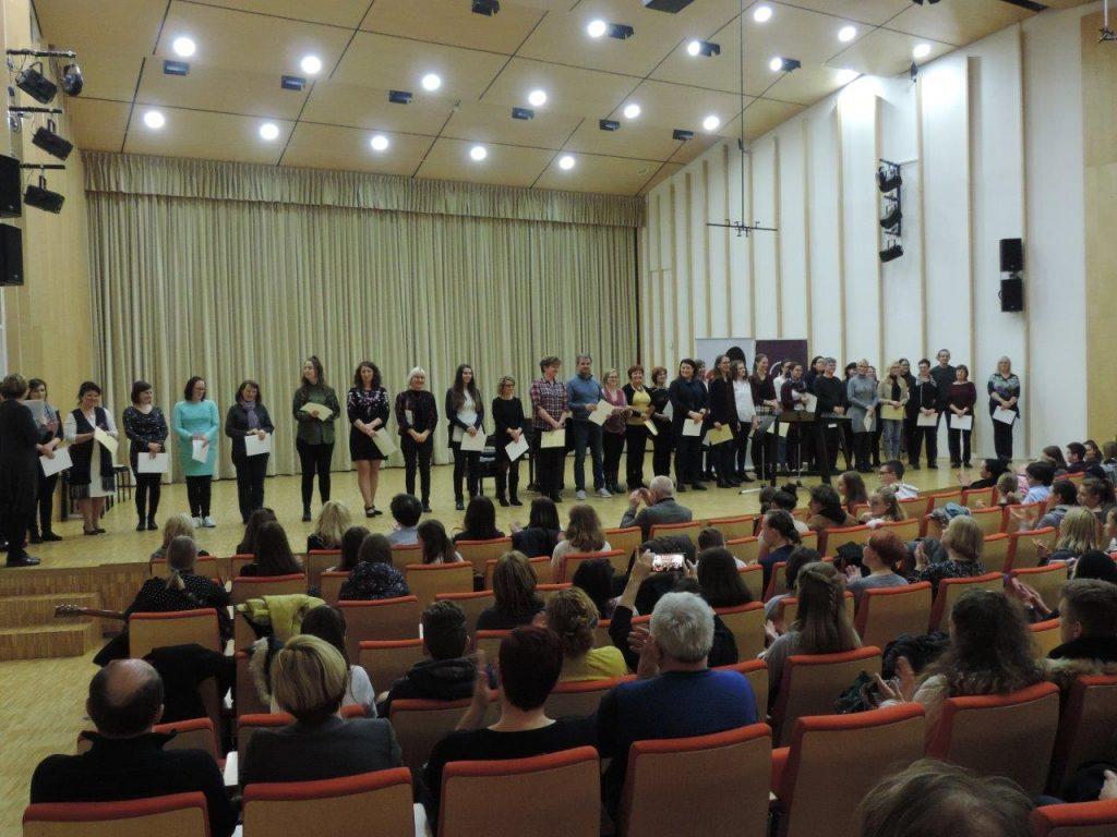 Mentorji - učitelji Glasbene umetnosti s 44 slovenskih šol